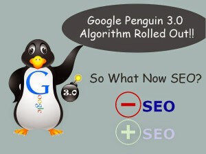 Google Penguin 3.0 Rolled Out