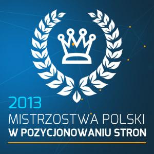 Mistrzostwa Polski w pozycjonowaniu stron 2013