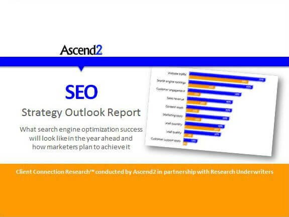 SEO Strategy Outlook Report