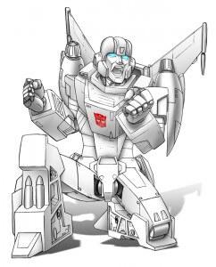 White Autobot