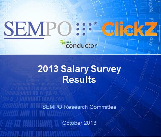SEMPO 2013 salary survey results