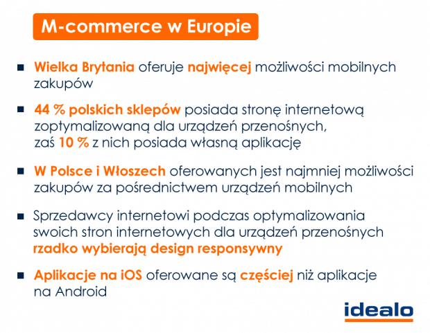 m-commerce w Europie