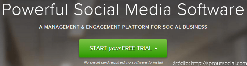 SproutSocial - call to action