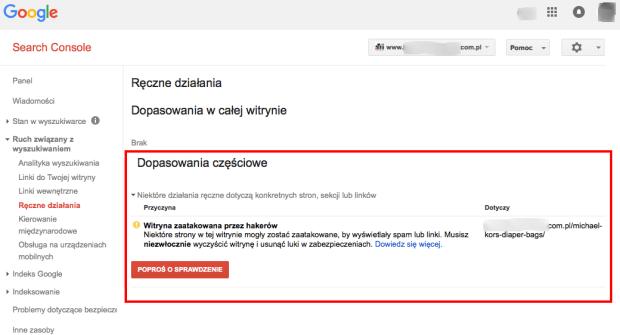 Witryna zaatakowana przez hakerow