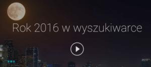 rok 2016 w wyszukiwarce google