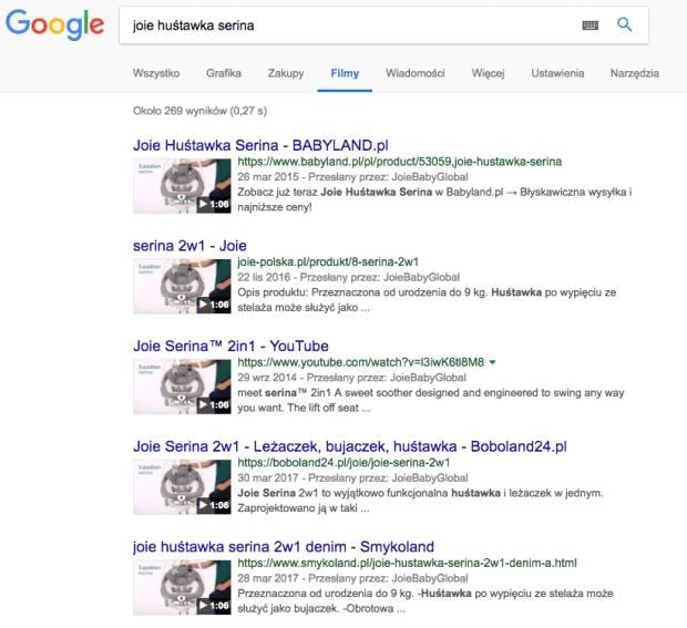 Filmy z Google
